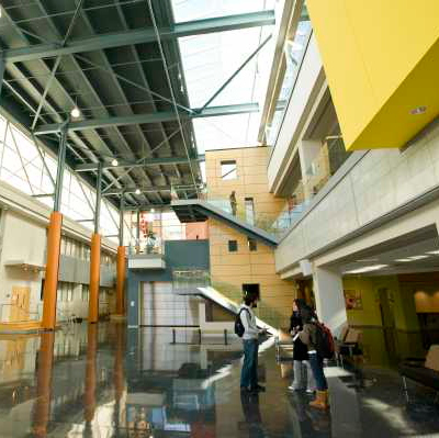 Life Science lobby.  Photographer: Nick Romanenko. Copyright: 2010 Rutgers, The State University of New Jersey